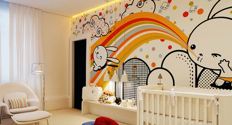 Wallpaper for Your Baby's Nursery