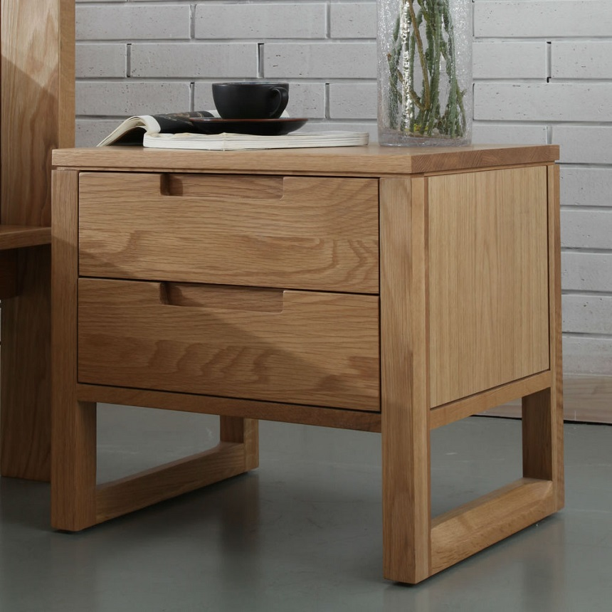 Bedside Tables Oak