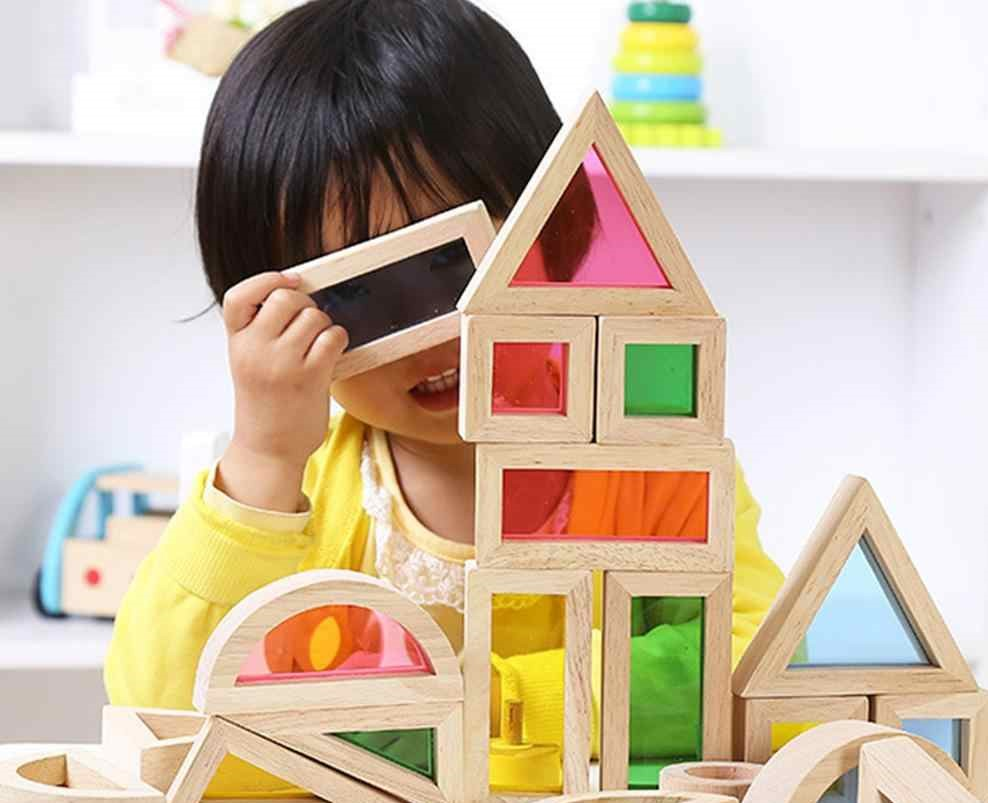Creative-Rainbow-Building-Blocks-With-Wooden-Puzzle-For-Kids