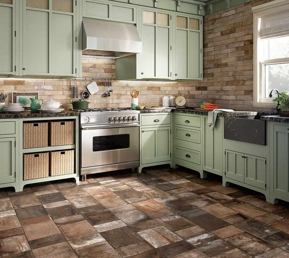 ceramic tiles kitchen floor solutions