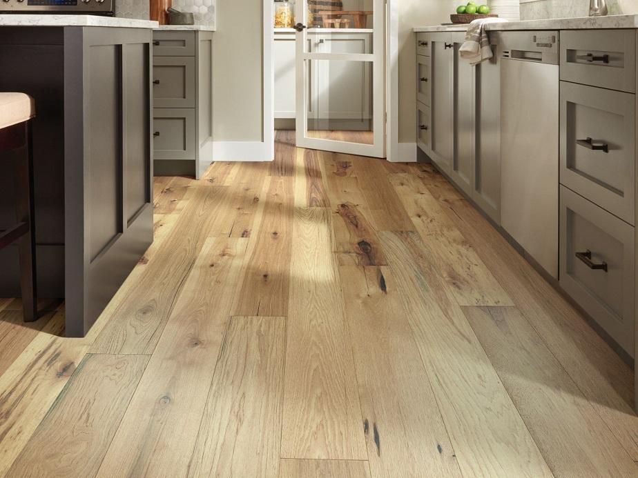 vinyl flooring kitchen solution