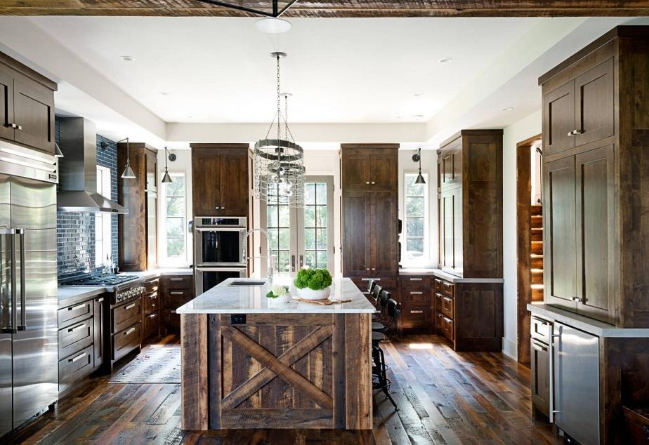 Hardwood kitchen floor solution
