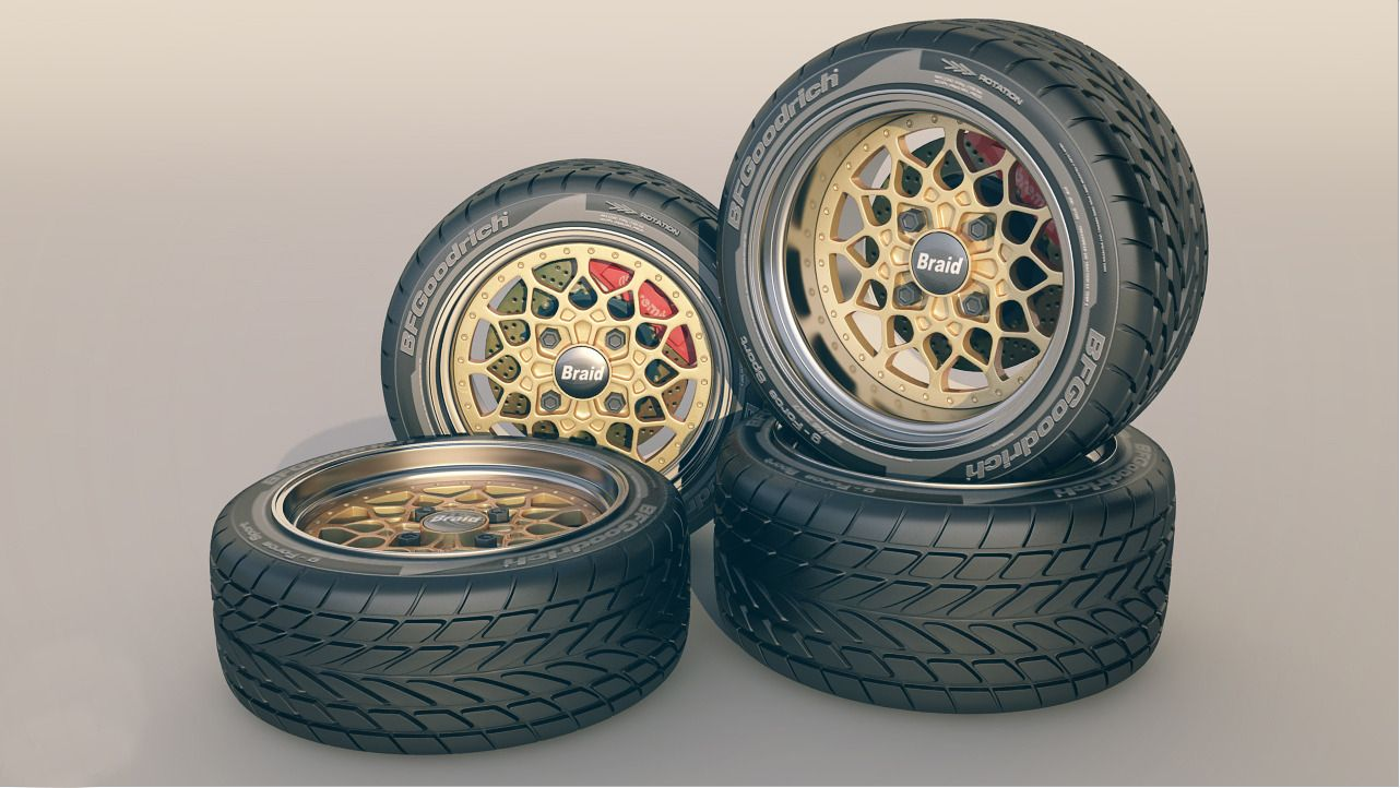 rc wheels and tyres