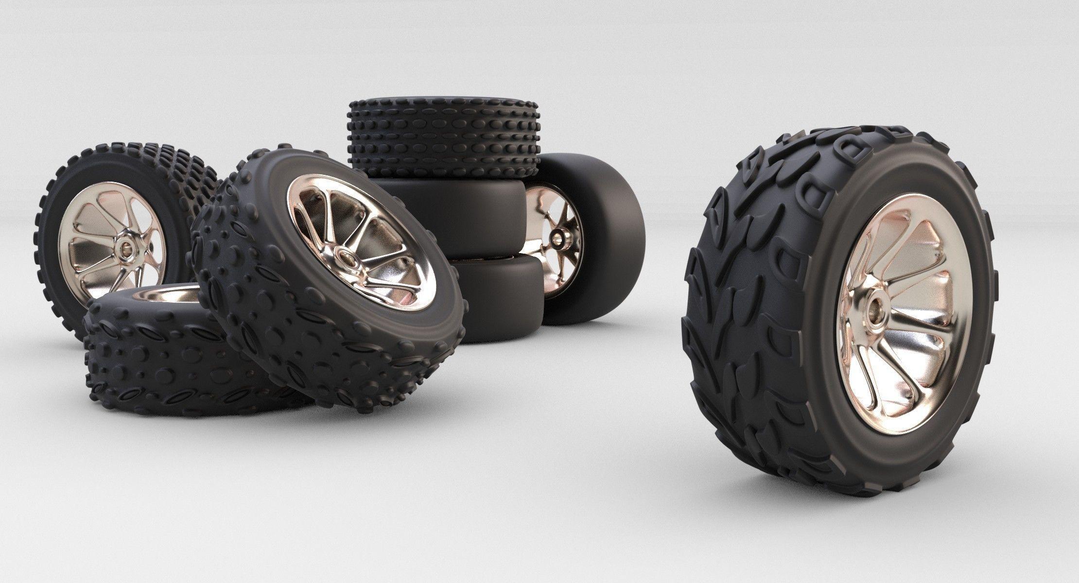rc car tyre wheels